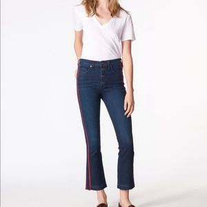 [Veronica Beard] Carolyn baby boot crop jeans